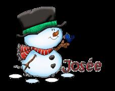 Josee - Snowman&Bird