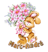 Marc-Andre - BunnyWithFlowers