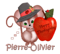 Pierre-Olivier - ThanksgivingMouse