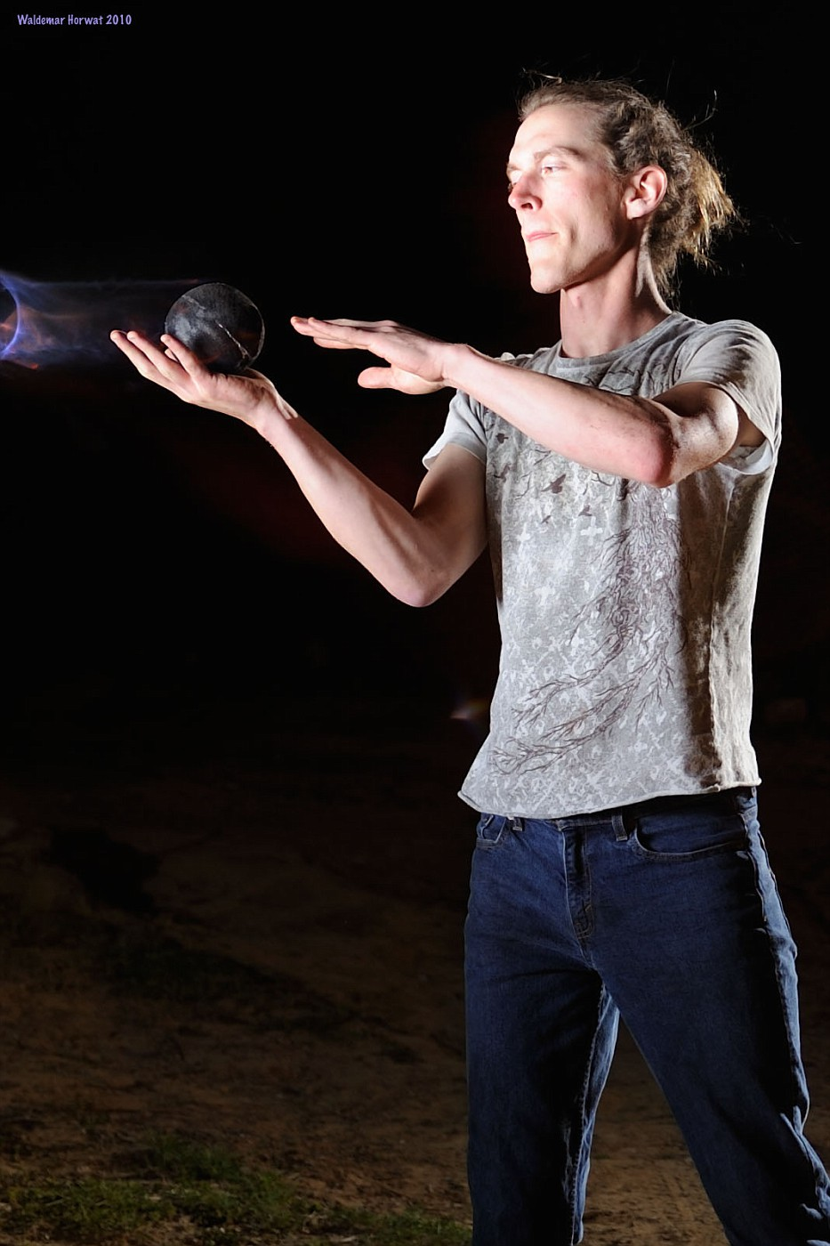 Contact Fire Juggling