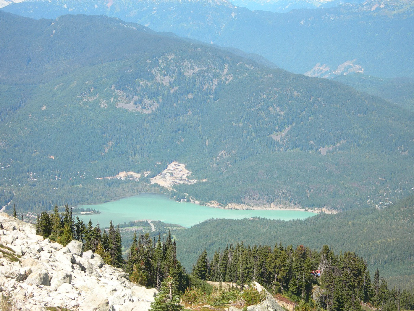 View from the top of Blackcomb