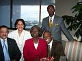 Consul Latortue; Ms. R. Moscoso Denis; Mie. Toussaint, Esq; Mr. Conze, Esq; Mr. G. Excellent