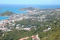 From the mountain : This is CHARLOTTE AMALIE the capital of St Thomas.