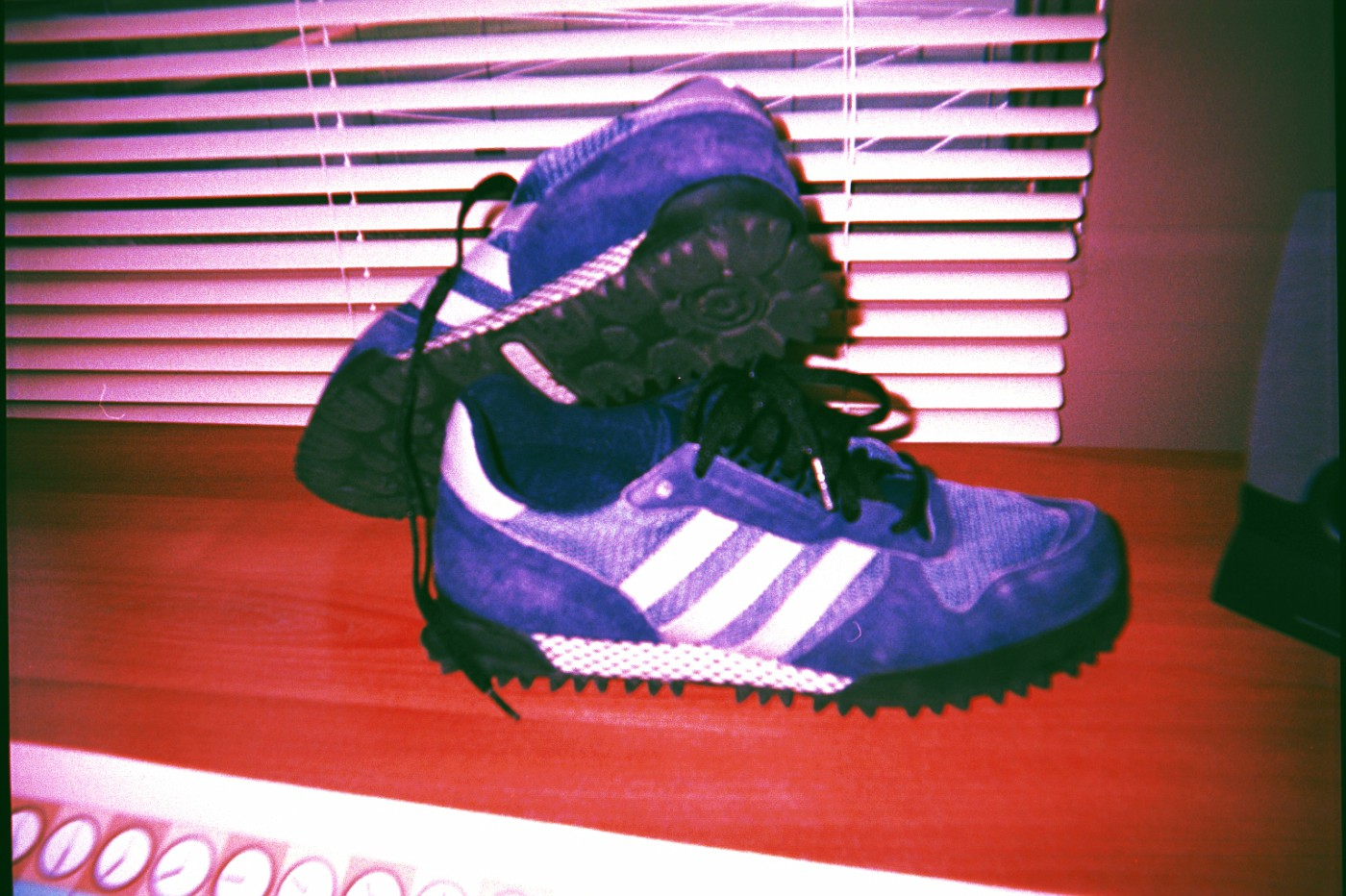 Late 90's adidas re-issue model is lost (;
