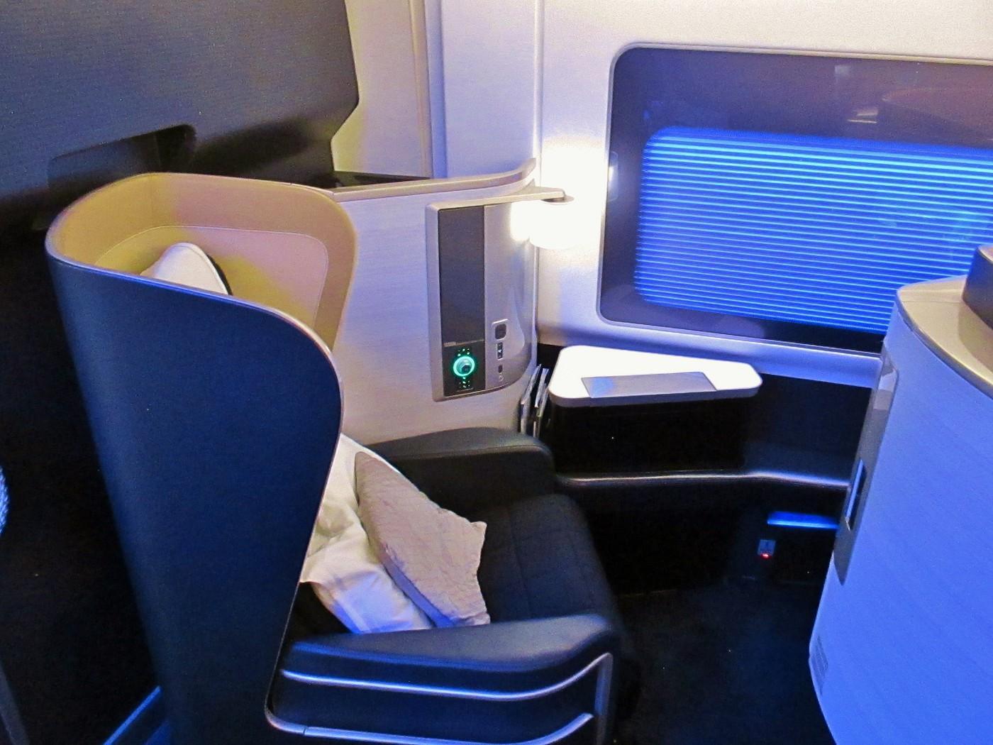 BA's 747 First Class Cabin