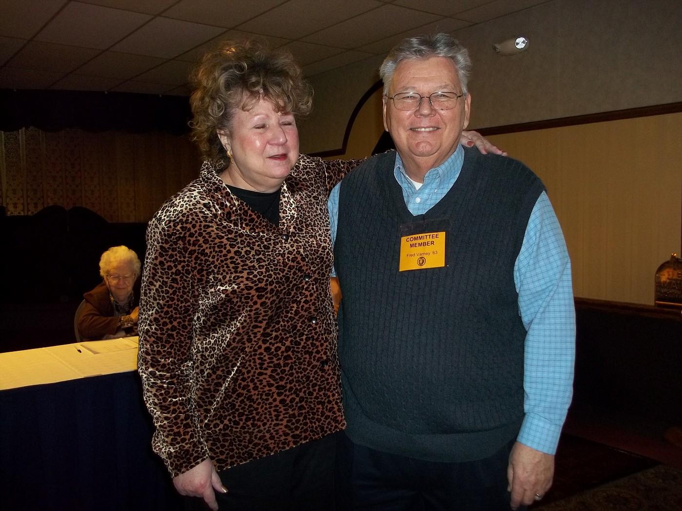 Donna Scott & Fred Varney