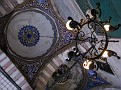 Over the southern entrance of Yeni Camii