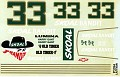 1994 Harry Gant Last Ride Unknown Decal Maker 720