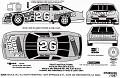 1994 Brett Bodine 602