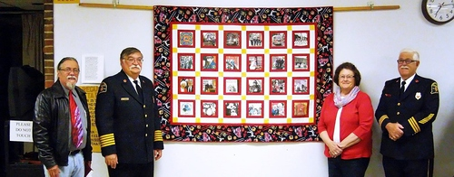 2015-6-01 WINDSOR LOCKS HERITAGE WEEK - FIREFIGHTERS QUILT - PRESENTATION - 05