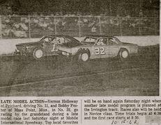 32-Bobby Foster  & 11-Vernon Holloway mobile 10-15-68