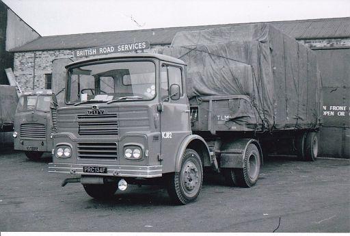 PRC134F    Guy Big J4T   no. KJ82 of Stoke depot