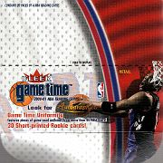 2000-01 Fleer Game Time Retail (1)
