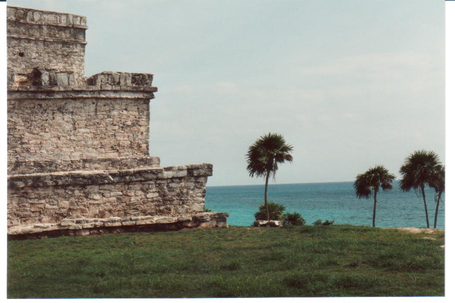 The Castillo (The Castle) - Mayan ruins of Tulum