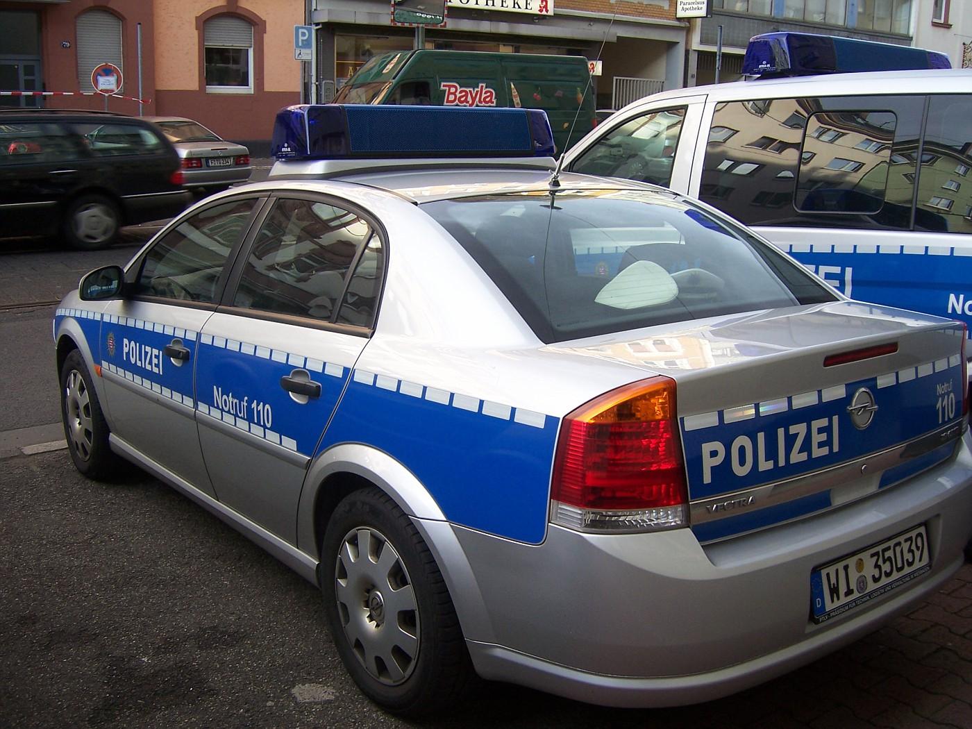 Germany - Frankfurt Polizei