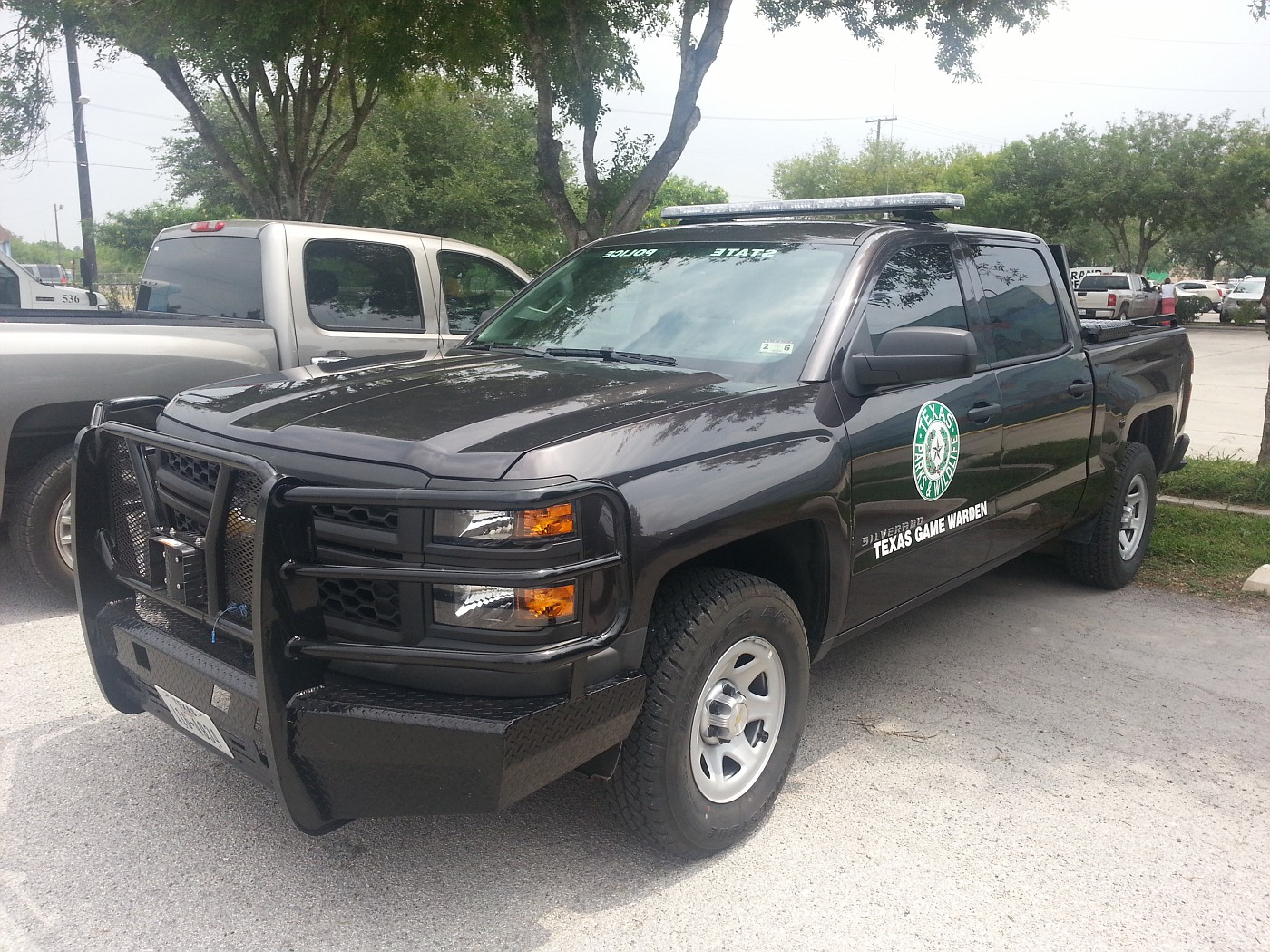 Game Warden Car