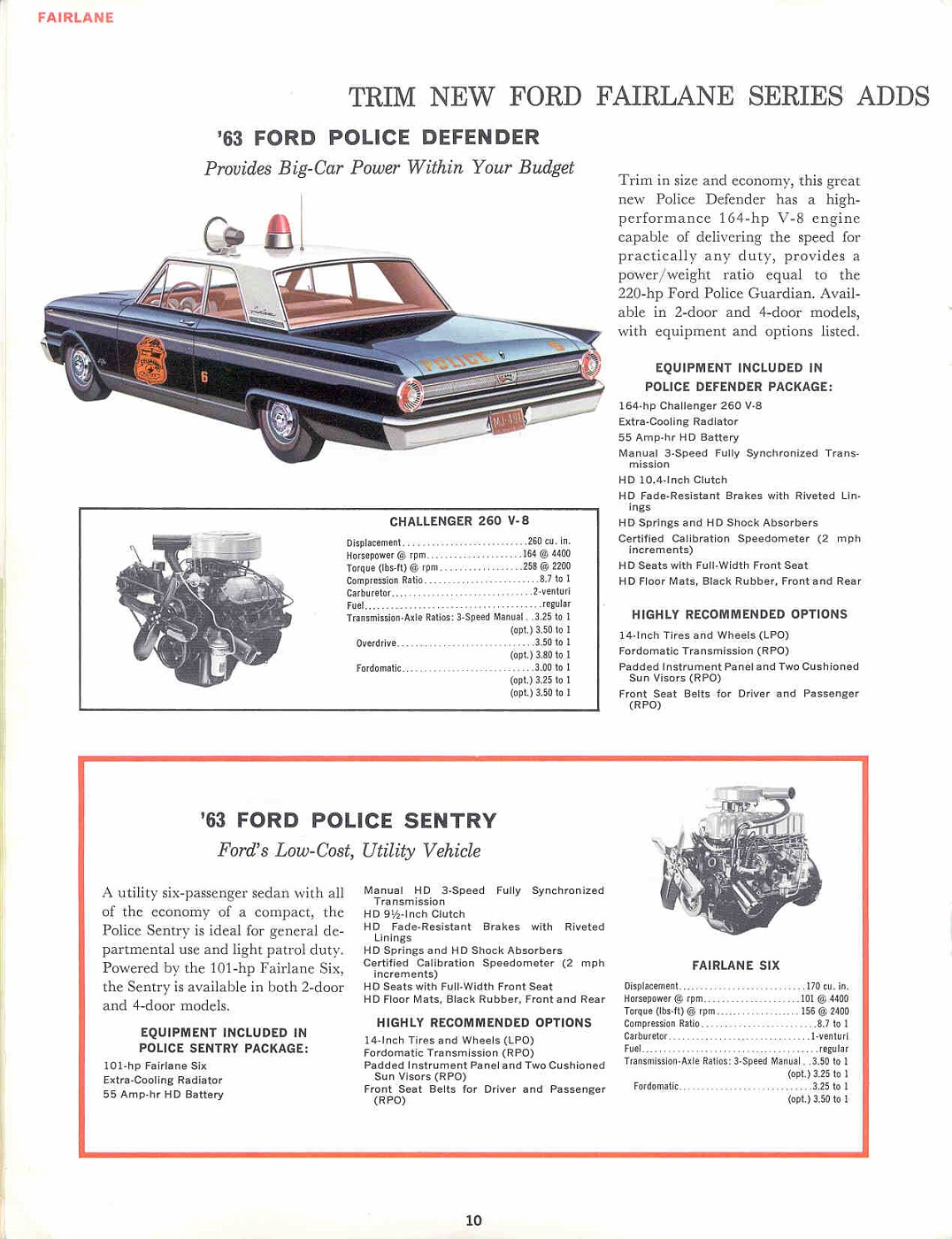 1963 Ford 10