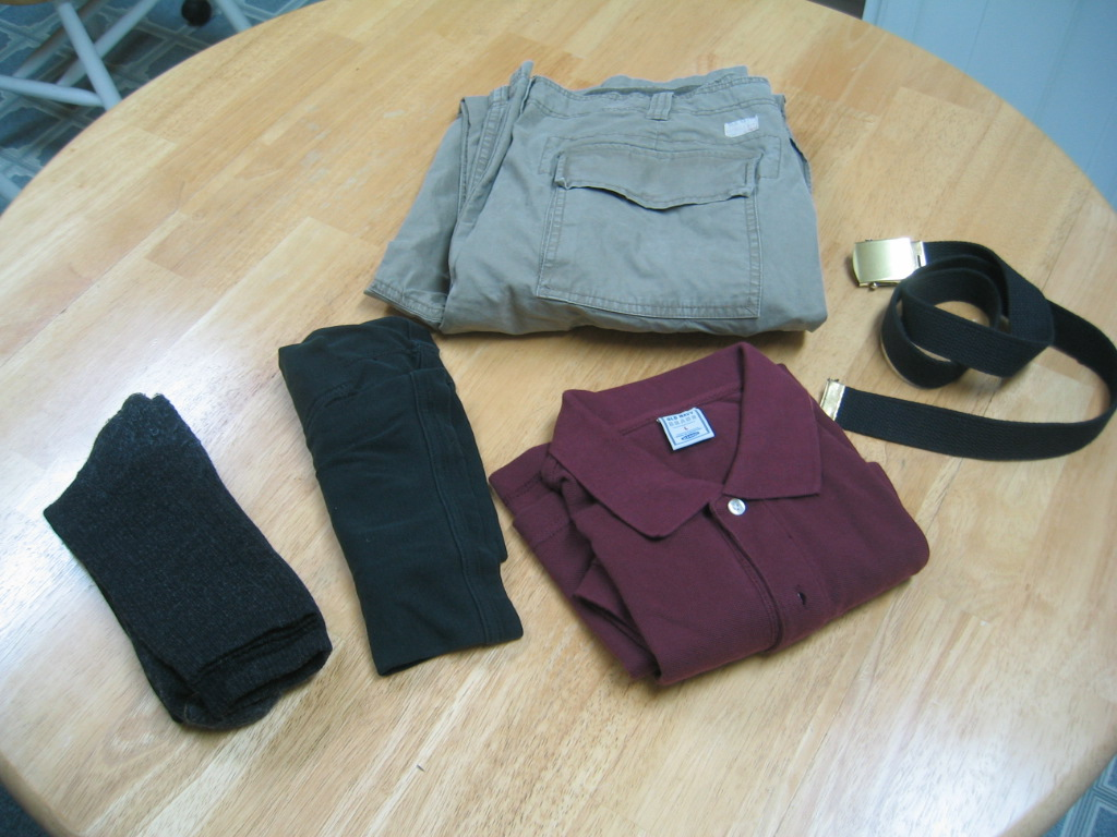 Plane Clothes to Wear.  3.0 LBS
