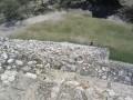"""The Rear """"Un-refurbished"""" steps of Chichen Itza, Yucatan Peninsula, Mexico."""