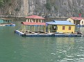 Cruising around the hundreds of Islands of Halong Bay, Vietnam.