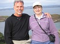 Irene and I in Tarbet, Scotland 8-2006
