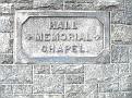WATERBURY - RIVERSIDE CEMETERY - HALL MEMORIAL CHAPEL - 01
