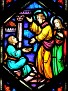 COLLINSVILLE - ST PATRICK'S CHURCH - STAINED GLASS - 86