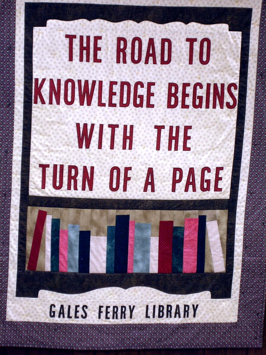 GALES FERRY - GALES FERRY LIBRARY - QUILT - 04