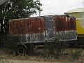 Couple of round nosed trailers at La Junta, Colorado
