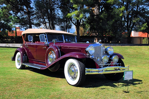 1931 Chrysler Imperial  GC Le Baron Dual cowl Phaeton