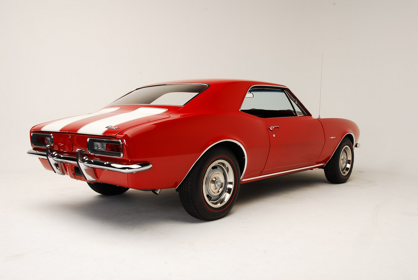 1967 Camaro Z28 rear three-quarter view