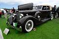 1934 Packard 1108 Dietrich Convertible Sedan front exterior view