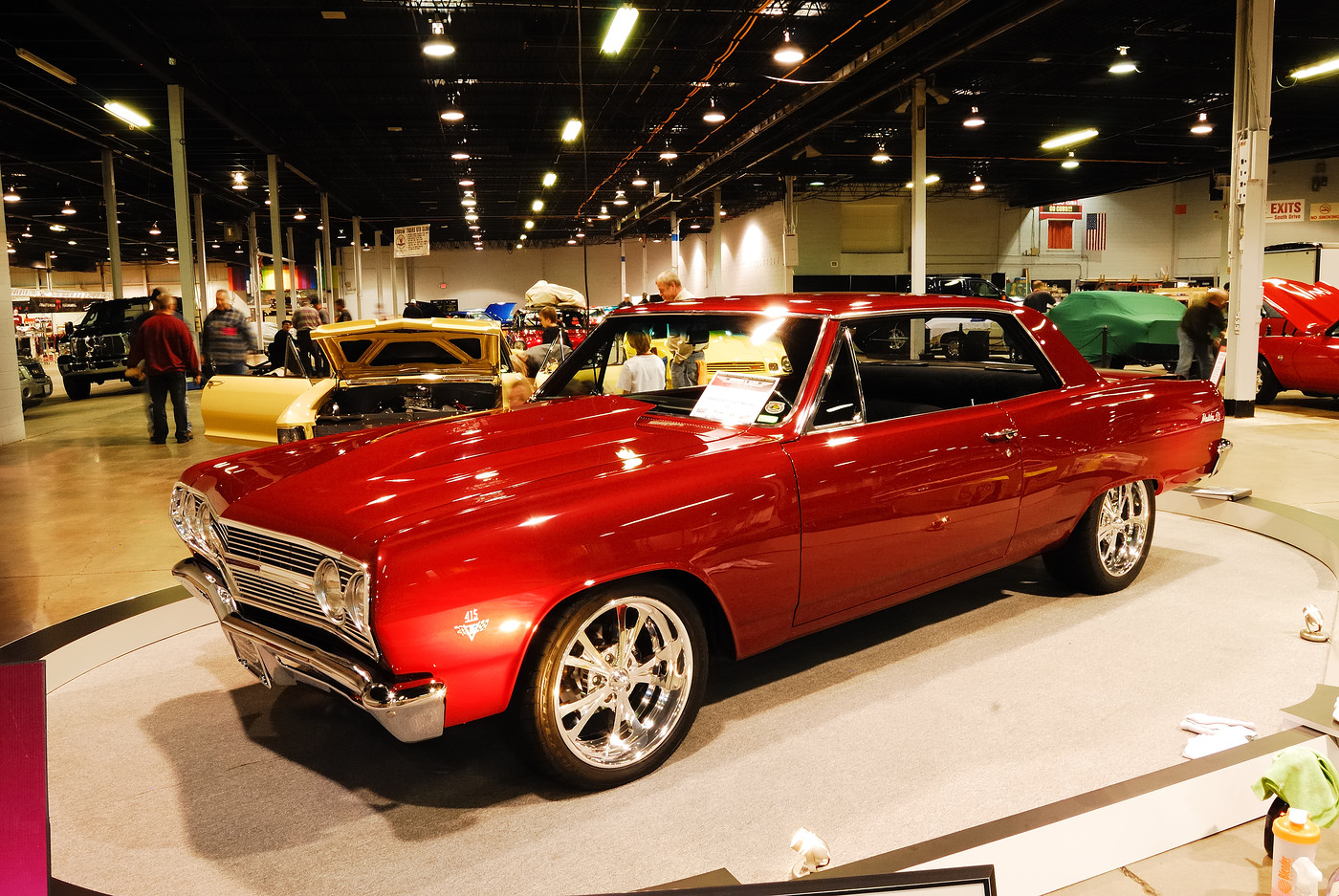 Custom Chevy Malibu at the 2010 Muscle Car and Corvette Show