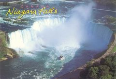 Canada - Niagara Falls (World's Highest Flow Rate Waterfall)