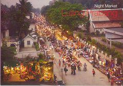 Laos - Luang Prabang Night Market NT