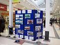Oak Mall Display of Schoolchildren's QM2 Art