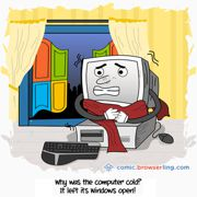 Coldness - Weekly comic about web developers, software and browsers