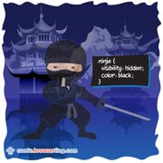 Ninja - Weekly comic about web developers, software and browsers