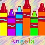 Crayons at schoolAngela