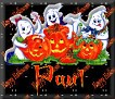 3 Ghosts & pumpkinPaul
