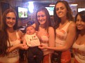 So Mom and Dad took me to Hooters for lunch