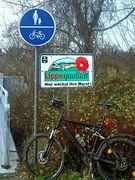 Gefährlicher Geh-/Radweg :o)