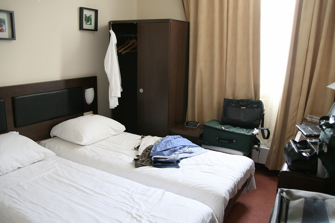Arnhem Centraal Hotel room
