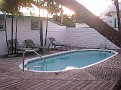 Mangoes Marina's pool