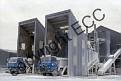 C13 ECC Lorries discharging clay