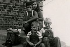 Bubby and Sue Burress. Luke, Jimmy, and Jerry West
