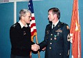 Col. Ted Hummell and SFC E. Ray Austin