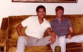 SFC Otero and me at his house (between 1980-1984).