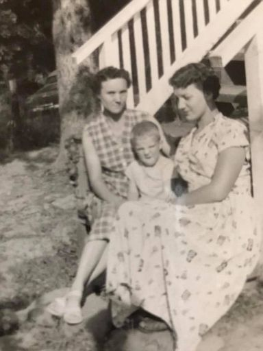 Mary VANN Lowe, Terry Sharp and Wilma Jean Lowe-2
