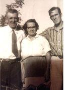 Marion Goad, Hazel (REED) Goad, and Vincent Goad